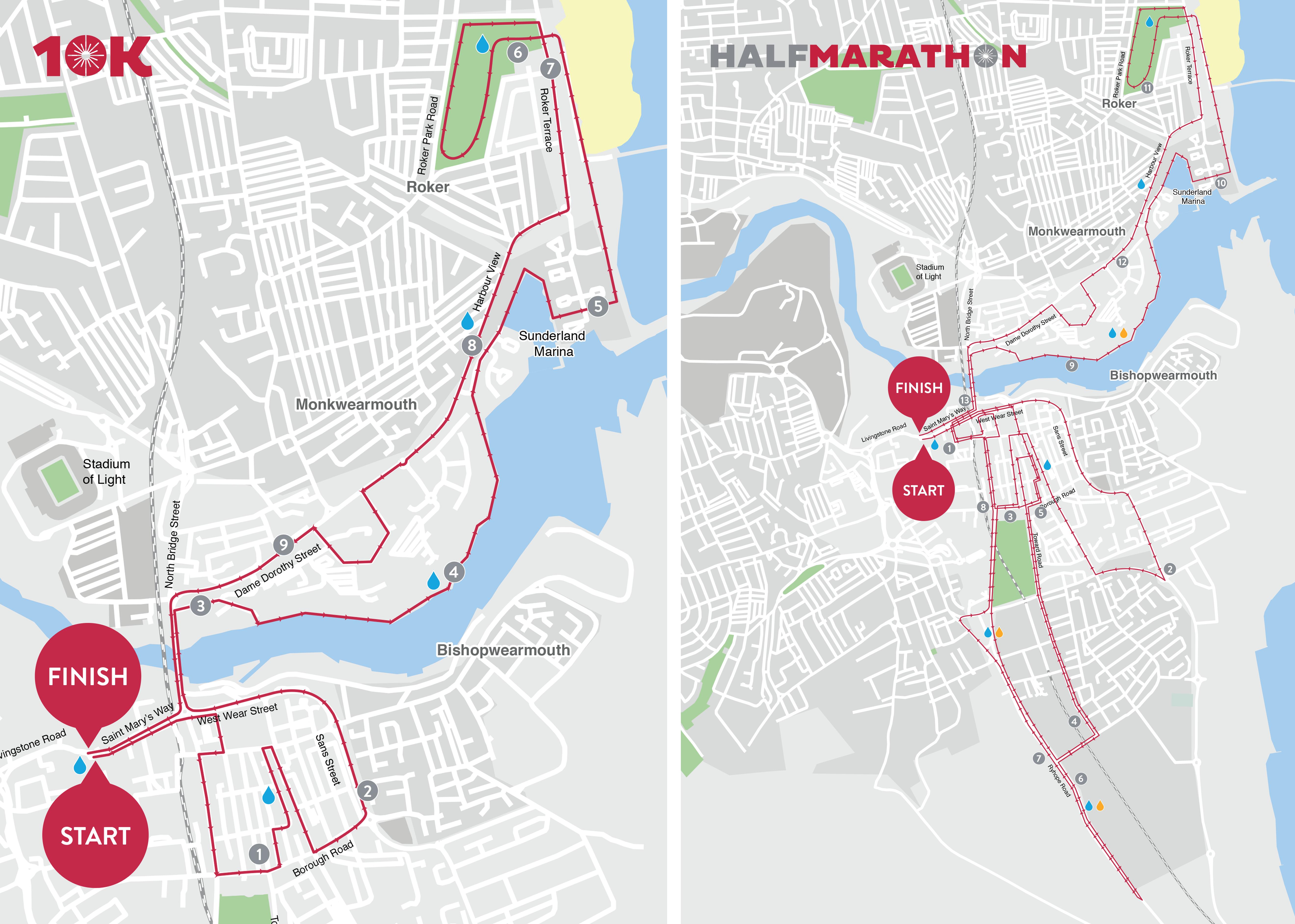 Siglion Sunderland City Half Marathon & 10K – Run Sunderland