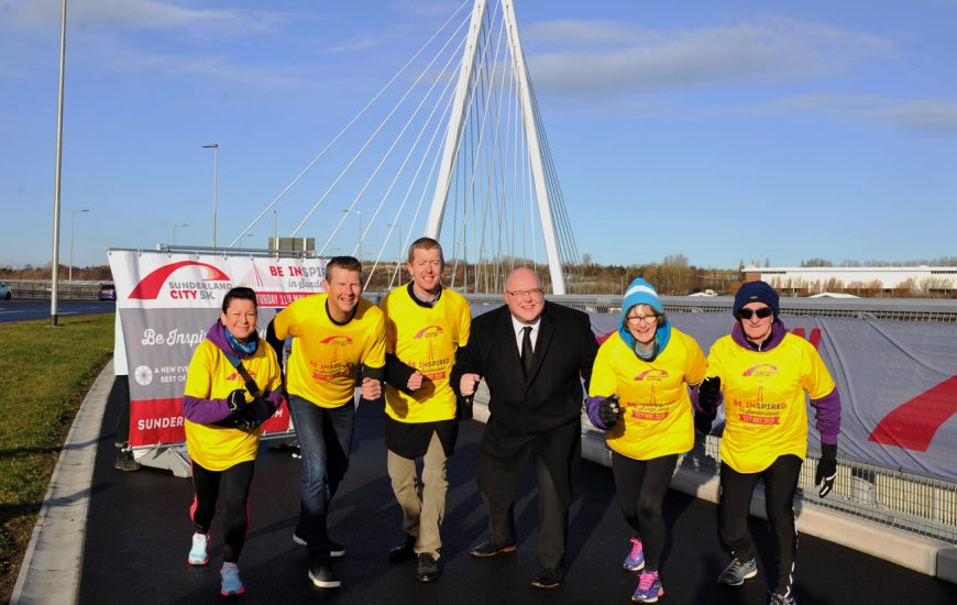 Be 'inSPIREd' by five to run at the first Sunderland City 5K